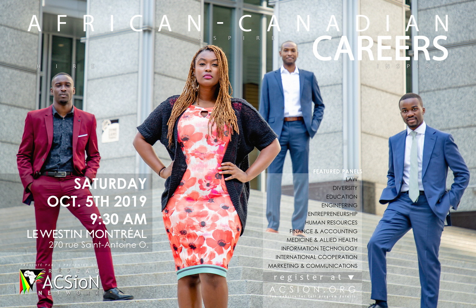 African-Canadian Careers 2019 - Registration