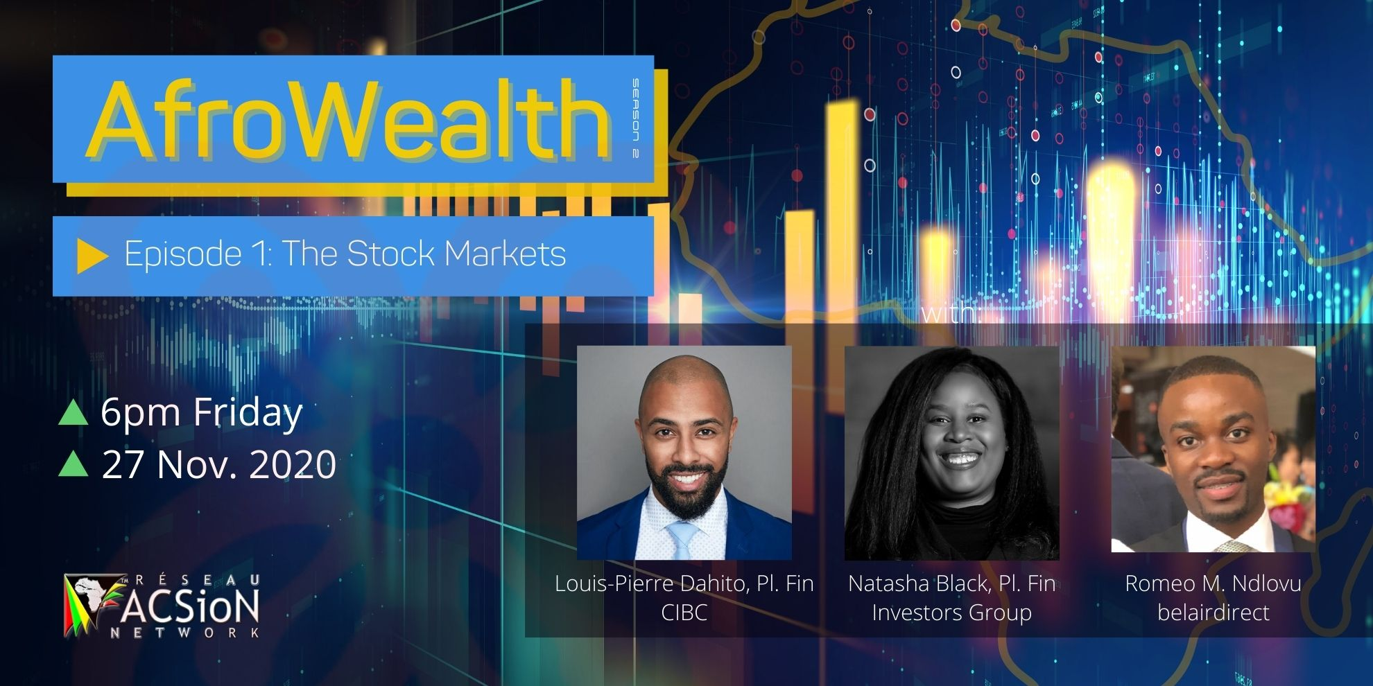 2020-11-27 - AfroWealth - The Stock Markets - S2-E1